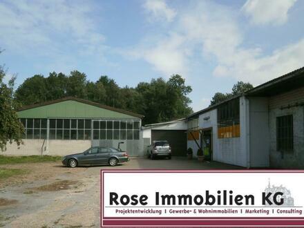 ROSE IMMOBILIEN KG: Schmiede, Metallbau, Handwerk! Produktionshallen mit Büros!