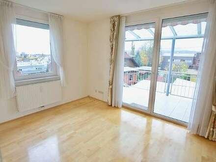 Kalvarienberg: Helle 2-Zimmerwohnung mit schöner Süd-Ost-Terrasse