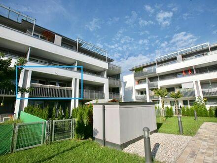 Klagenfurt - Universitätsstraße: entzückende 2-Zi-WO mit großzügiger Südloggia und Tiefgaragenplatz