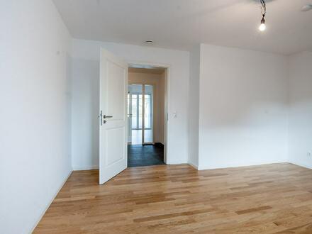 Neubau-Erstbezug: Stilvolle Erdgeschosswohnung in bevorzugter Lage