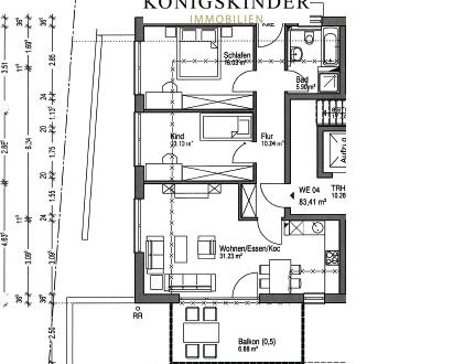 *PROVISIONSFREI* Neubauprojekt: Schicke Wohnung mit Balkon, Garten und Tiefgarage in Südhanglage!