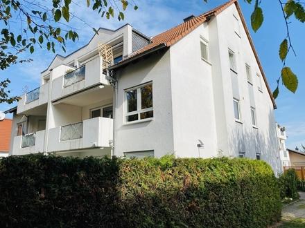 Jung & Kern Immobilien - Gut geschnittene 3 Zimmer Wohnung in ruhiger Zornheimer Lage