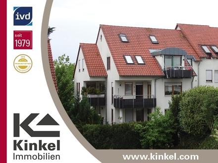 Helle 2-Zimmer-Wohnung mit Süd-Ostbalkon, TG und Einbauküche