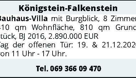 Königstein-Falkenstein Bauhaus-Villa