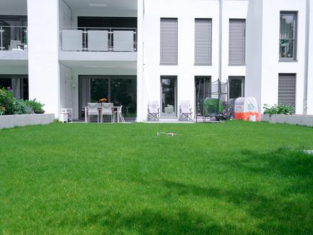 Exklusiv wohnen in Dieburg - 4-Zimmer-Erdgeschoss-Wohnung mit Garten