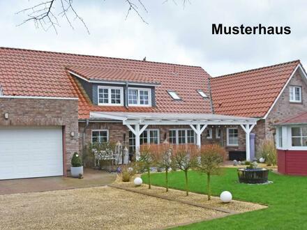 Neubau Einfamilienhaus mit rd. 170 m² Wohnfläche in zentrumsnaher Lage von Aurich