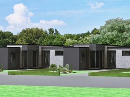 Neubau eines ebenerdiges Gartenhofhauses (Haus 3) im KfW 40 Standard