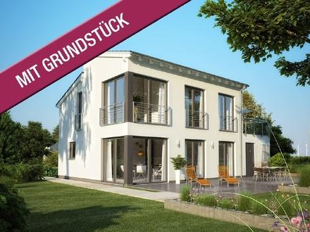 Ihr Traumhaus überzeugt durch moderne Pultdach - Architektur!