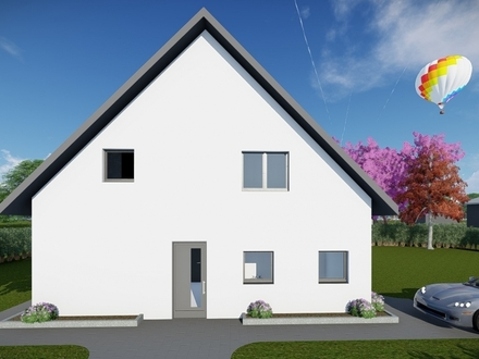 Ihr Vorteil - Planung und Bau aus einer Hand! All - Inclusiv Service - Klassisches Einfamilienhaus