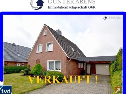 geräumiges, solides Wohnhaus mit Garage in Westerstede