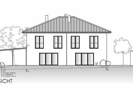 Neubau - Doppelhaushälfte in Aicha v. Wald