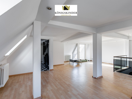 Große 3-4 Zimmer-Maisonette Wohnung mit Dachterrasse in begehrter Lage von Stuttgart (Lehen-/Heusteigviertel)