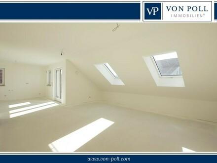 Tolle Aussichten! 3 Zimmer Dachgeschoss Neubauwohnung mit großer SW-Terrasse