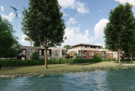 Penthouse-Neubauwohnung in zentrumsnaher Lage von Papenburg