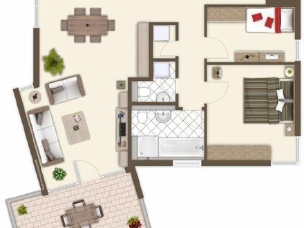 """Neubau-Erstbezug: Wohnanlage """"Am Stumpfen Turm"""" - 3-Zimmer-Eigentumswohnung"""