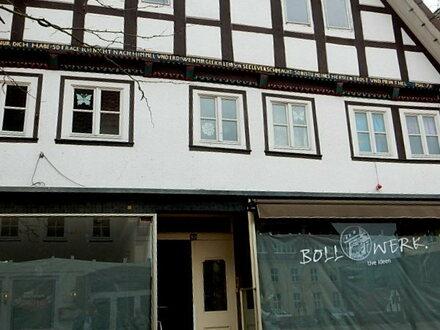 Historisches Wohn- Geschäftshaus in direkter Einkaufsstraße von Vlotho sucht Investor!