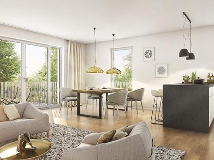 4-Zimmer-Wohnung in wohngesunder Bauweise