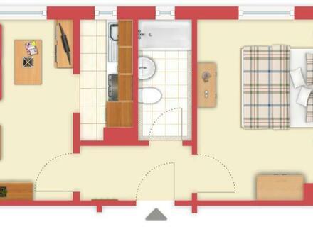 Ideal als Zweitwohnsitz oder Kapitalanlage: Kleine teilmöblierte Eigentumswohnung in Wilhelmshaven