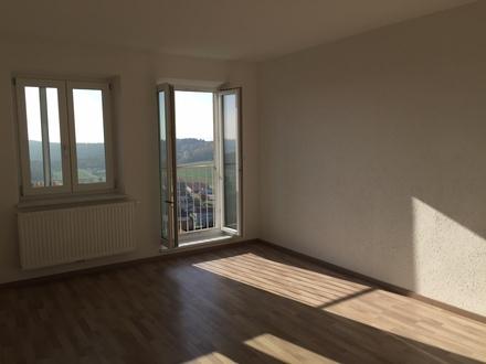 Schöne 4 Zimmer Wohnung, mit schönem Blick