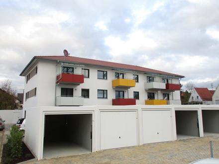2-Zimmer-Neubau-Wohnung mit Garten und Einbauküche