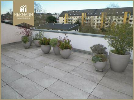 Elegante 4-Zi.-PH-Maisonette Wohnung mit Loggia und Sonnen-Dachterrasse