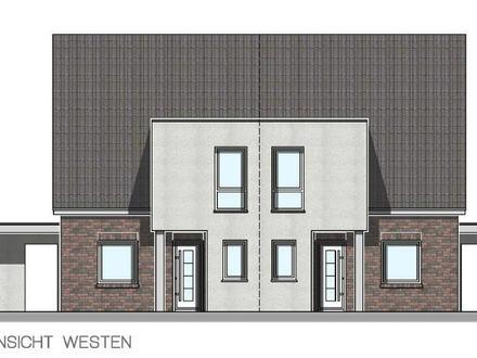 Nur noch 1 Neubau-Doppelhaushälfte im KfW 40 Standard in Haren-Emmeln PROVISIONSFREI zu verkaufen.