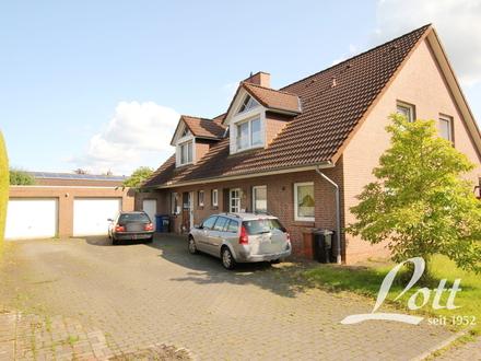 +++ Vermietetes Doppelhaus mit zwei Garagen - Nähe Bahnhof! +++