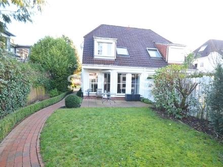 Gepflegte Doppelhaushälfte in ruhiger Spielstraße von Bremen-Lesum