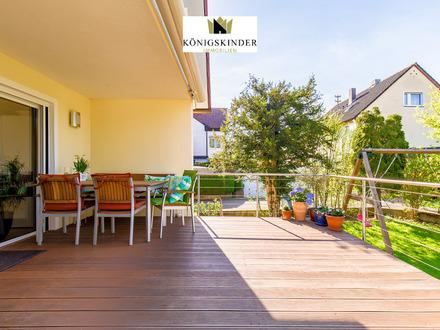 Hochwertiges und exklusives Einfamilienhaus mit Einbauküche und Garagen
