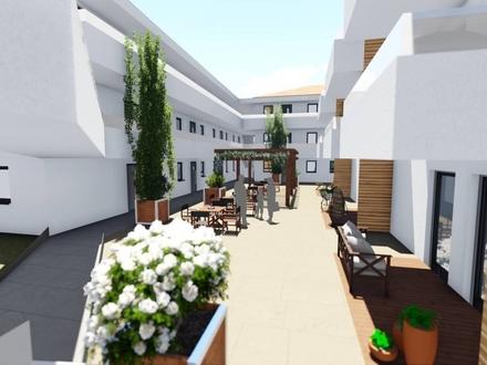 Betreute Seniorenwohnungen - 2-Zimmer- Obergeschoss-Wohnung mit ca.56,59 m² Wohnfläche