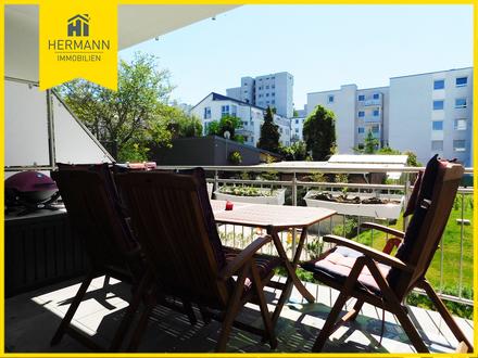 Helle moderne 3 Zimmerwohnung mit Balkon in Frankfurt-Oberrad