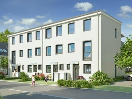 So macht Wohnen Spaß: Modernes Familienhaus mit sonniger Dachterrasse