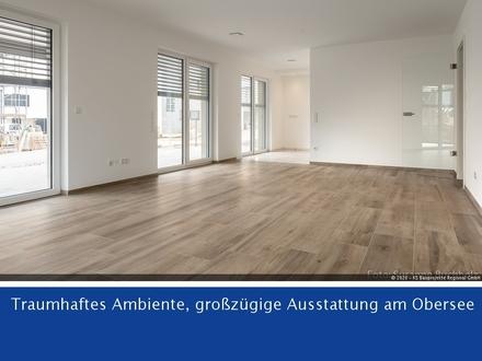 Elegante, barrierefreie Erdgeschosswohnung mit Sonnenterrasse - 130m² - 3 Zi.