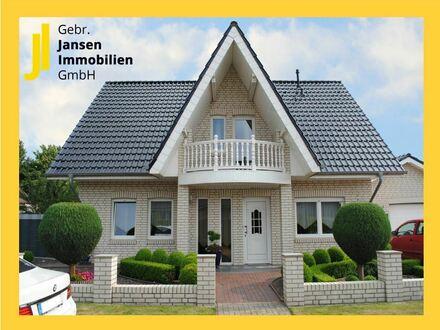 Weißes Landhaus mit schöner Außenanlage in Sögel - TOP-Zustand!!!