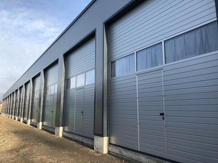 Lagerfläche, Garage, Halle mit Rolltor zu vermieten (Variante Mittelgroß)