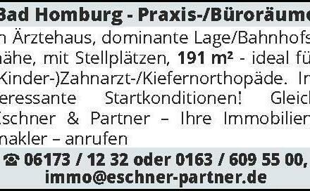Bad Homburg - Praxis-/Bür