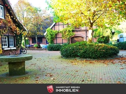 Lingen / Pferdegestüt mit Reithalle, Pferde-Wellnessbereich, großem Wohnhaus auf 3,2 ha Grundstück