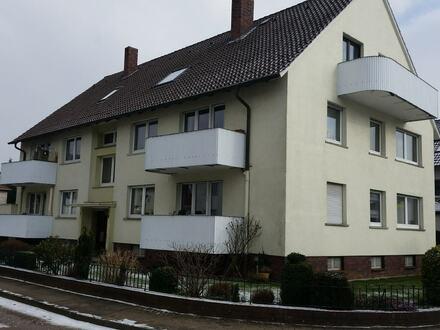 Vermietung einer 4-Zimmerwohnung in Minden - Nähe Mittellandkanal