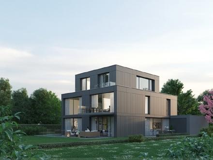 Neubau 2: Haus mit separater 2 Zi.-Whg. und Blick ins Grüne direkt am Schloßpark