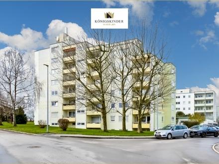 Provisionsfrei! Praktische 2-Zimmer-Wohnung in Esslingen/Berkheim mit S-W-Balkon und TG-Stellplatz