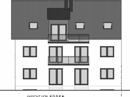 Provisionsfrei! Bezug Ende 2018! Repräsentative Neubauwohnung im 4-Familienhaus