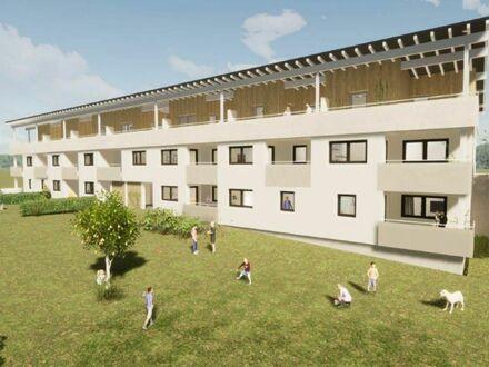Neubauprojekt: 3-Zimmer-Terrassen-/Balkonwohnung in Franking nahe der Salzburger Landesgrenze