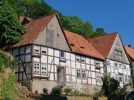 Zweigeschossiges Fachwerkhaus in Schwalenberg