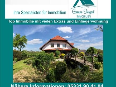 *** Top Immobilie mit vielen Extras und Einliegerwohnung in guter Wohnlage