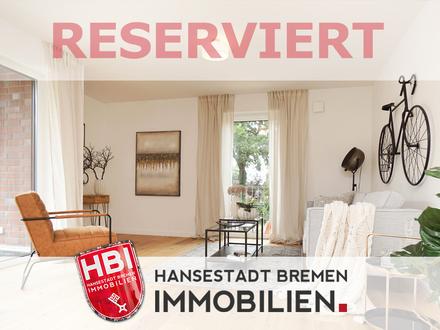 Worpswede / Großzügige 3-Zimmer-Etagenwohnung mit Sonnenbalkon