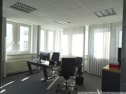 Blick in einen Büroraum