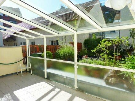 Schöne 4-Zi.-Altbauwohnung mit Gartenterrasse in der Ravensburger Altstadt