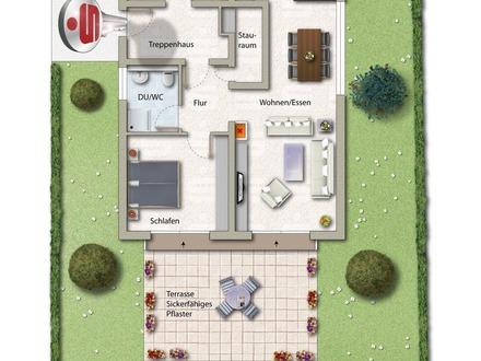 Gemütliche Einliegerwohnung mit Terrasse und Gartenanteil