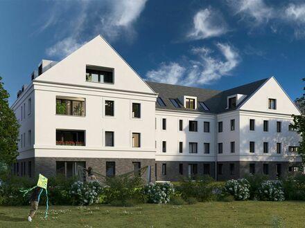 Toll arrangierte 2-Zimmer-Wohnung mit Loggia in ruhiger Lage