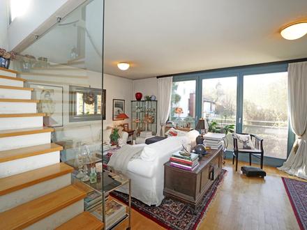 TERRASSENTRAUM IN LEOPOLDSKRON 4-Zimmer-Maisonette-Wohnung in absoluter Bestlage